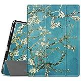 FINTIE Coque pour iPad Pro 12.9 Pouces - Etui de Protection en Cuir PU Mince et Léger Housse Rigide...