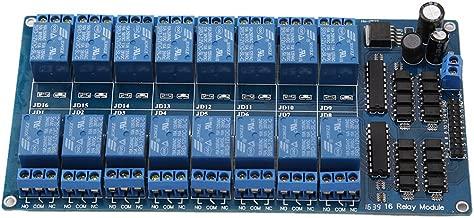 HALJIA Lot de 3 modules de relais /à 2 canaux 5 V pour carte dextension universelle haute performance avec optocoupleur pour Raspberry Pi Arduino PIC AVR MCU DSP ARM TTL Logic