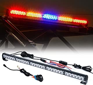 "Xprite 30"" Offroad Rear LED Chase Strobe Light bar w/Running Turn Signal Brake Reverse Light for UTV, ATV, Polaris RZR XP 1000, Side by Sides, 4x4, Trophy Truck Offroad Vehicle - RYBYR"