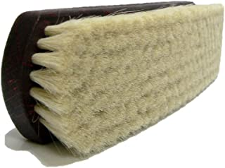 Valentino Garemi Shoe Brush Polishing Shining Buffing Cleaning Genuine Super Soft Goat Hair- Made in Germany