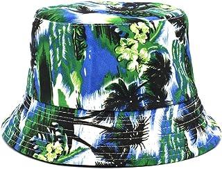 Sombrero De Copa Sombreros De Cubo Reversibles para Mujeres Sombrero De Pescador Hombres Calle Hip Hop Gorra De Sol Sombrero De Pesca Impreso Vintage