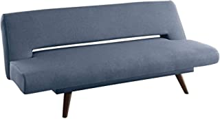 Coaster Home Furnishings Upholstered Adjustable Sofa Bed, Grey