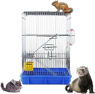 Gifty 3階建て広々ケージ チンチラ リス 大型 ケージ スノコ付き 通院 避難 デグー うさぎ 小動物用 おでかけ キャリー