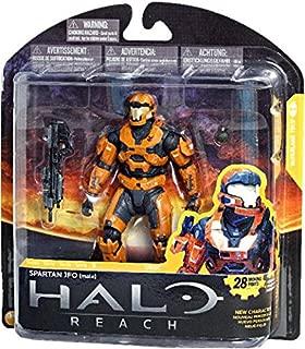 Halo Reach McFarlane Toys Series 3 Exclusive Action Figure RUST ORANGE Spartan JFO Male