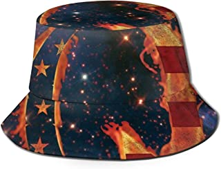 YTGHF Unisex Bucket Cap, UPF 50+ Fashion for Outdoor Summer Cap Hiking Beach Sports
