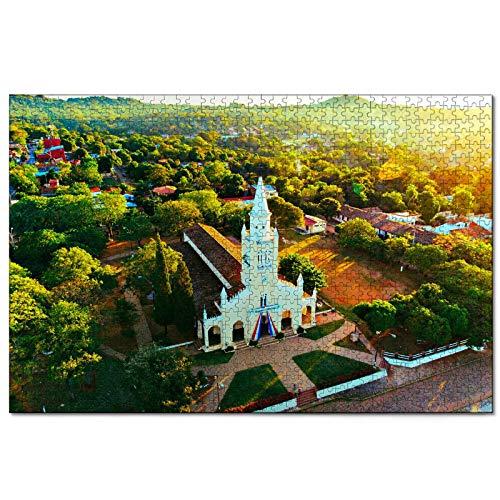 Paraguay Rompecabezas de 1000 Piezas para Adultos y familias, Regalo de Viaje de Madera, Recuerdo de 30 x 20 Pulgadas