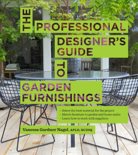 The Professional Designer's Guide to Garden Furnishings