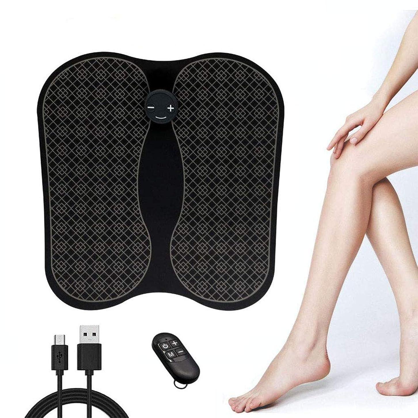 エキス固体所有権USBフットマッサージャー-血液循環を促進し、筋肉痛を和らげます,黒