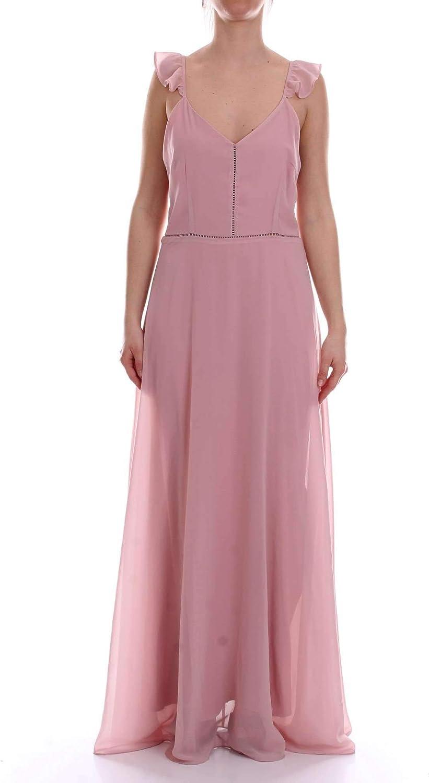 Angeleye Women's GLAUCOUSPINK Pink Polyester Dress