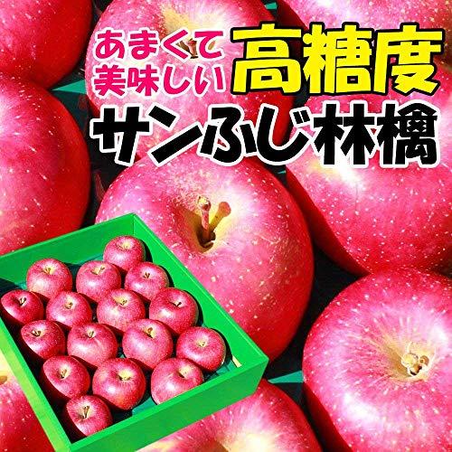 【光センサー選果】 高糖度 サンふじ 秀Aランク以上 (約5kg(16〜20玉))
