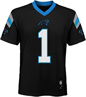 Outerstuff Cam Newton Carolina Panthers #1 NFL Youth Mid-Tier Jersey Black