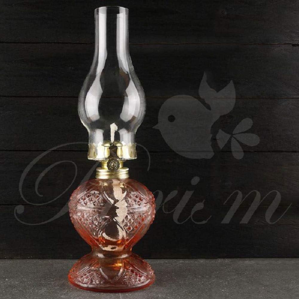 Atlanta Max 62% OFF Mall LWJPP Retro oil lamp Nostalgic Glass w New Craft Collection home