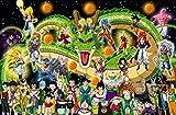 ZPDWT Puzzle 1000 Teile Erwachsene-Anime Dragon Ball-Puzzle