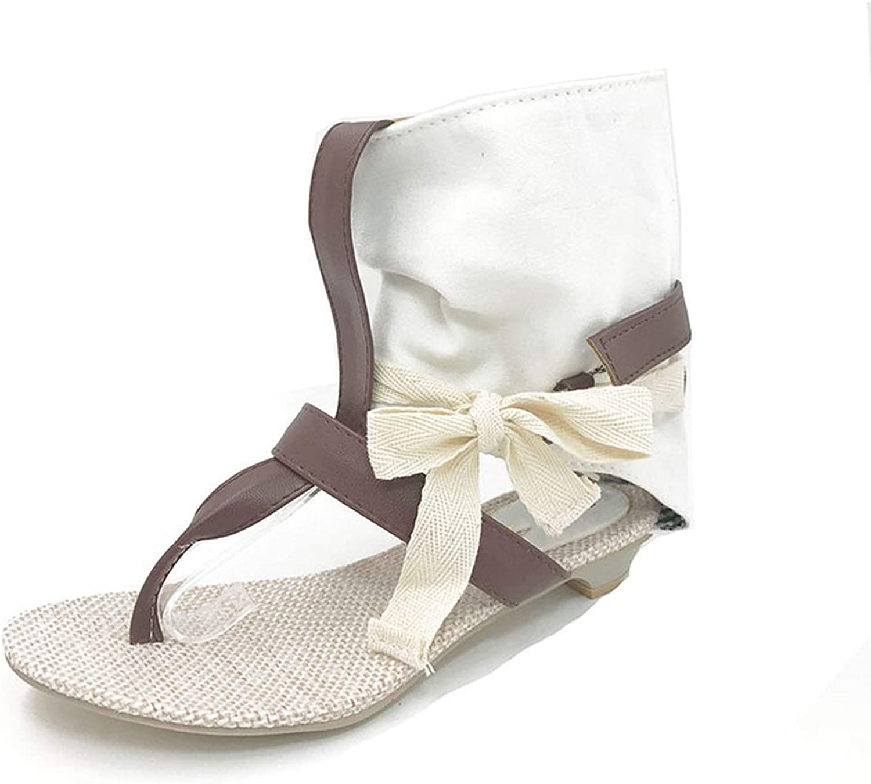 Women Ladies Flat Sandals Dress Sexy Flats Summer High Heels shoes Flip Flops shoes Sandals