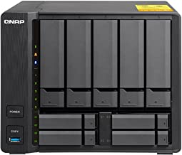QNAP TS-932X-8G-US 5 (+4) Bay 64-bit NAS with Hardware Encryption, Quad Core 1.7GHz, 8GB RAM, 2 x 10GbE(SFP+), 2 x 1GbE