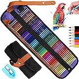 Tonsooze Matite colorate Set Disegno Artistico Colorate, 50 pastelli colorati set Matite colorate esagonali per schizzi la pittura e la colorazione