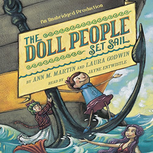 The Doll People Set Sail audiobook cover art