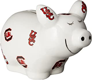 One Size Multicolor Game Day Outfitters NCAA Arkansas Razorbacks Poly Resin Hog Piggy Bank