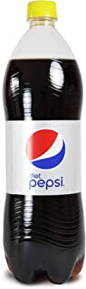 Diet Pepsi, Carbonated Soft Drink, Plastic Bottle, 1.125 Litre