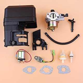 Corolado Spare Parts, Carburetor Starter Solenoid Relay Oil Sensor Alert Kit for Honda Gx160 Gx200 168F 5.5/6.5Hp 2Kw Engine Motor Gasoline Generator