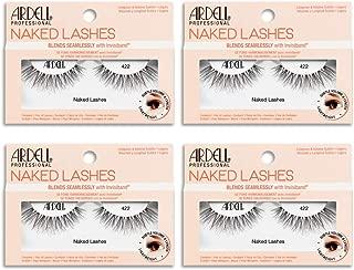 Ardell False Lashes, Naked Lashes 422 with Invisiband, 4 pairs
