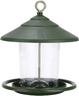 Outdoor Bird Feeder, Transparent Hanging Automatic Bird Feeder Large Capacity Garden Lazy Bird Feeder Attracts Small Garde...