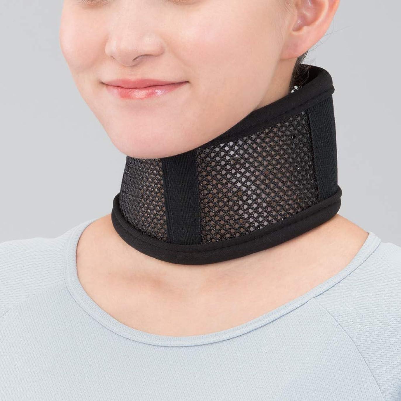 いつでも抗議バイオリンbonbone 頸部サポーター キュールカラー  ブラック L