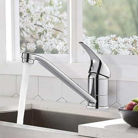 Basse Pression de lavabo Robinet escamotable Mixeur chromé