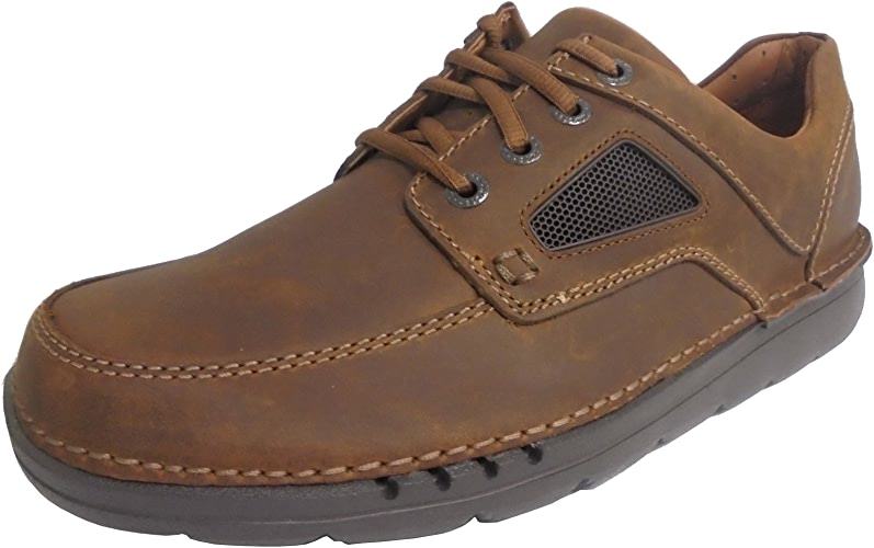 CLARKS Hommes's Unnature Time Tan Nubuck 10 EE US