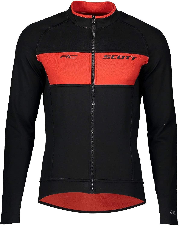 Scott RC Warm Reversible WB Winter Fahrrad Jacke schwarz rot 2020  Größe  XL (54 56)