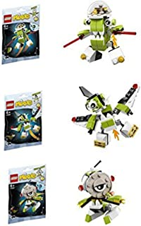 Lego, Mixels Series 4 Bundle Set of Orbitons, Rokit (41527), Niksput (41528), Nurp-Naut (41529)