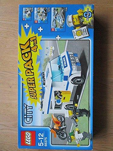 LEGO City Superpack 4 in 1 – Jeux de Construction (Multi)