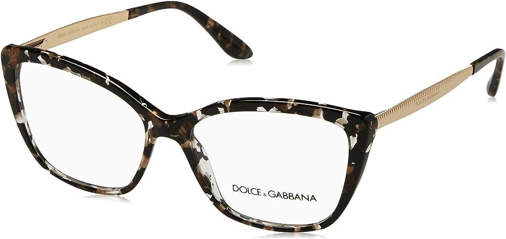 Dolce & gabbana,montatura  occhiali da vista donna eyeglasses 0DG3280