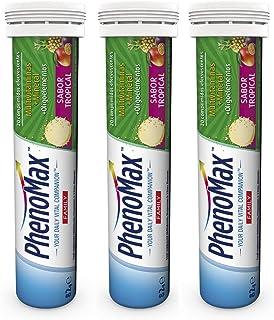 PHENOMAX FAMILY. Vitaminas Efervescentes. Multivitaminas+Minerales+Oligoelementos. 3 Unidades Comprimidos Efervescentes