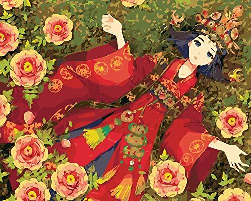 Wangchengo Pintar por Numeros para Adultos Niños DIY Principiante Vestido de Novia...