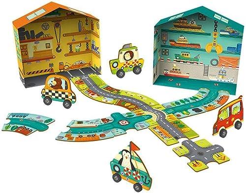 salida para la venta QTDS Intelectual Toy Toy Toy Niños Anillo Pista Rompecabezas Bebé Puzzle Juguete  Envio gratis en todas las ordenes