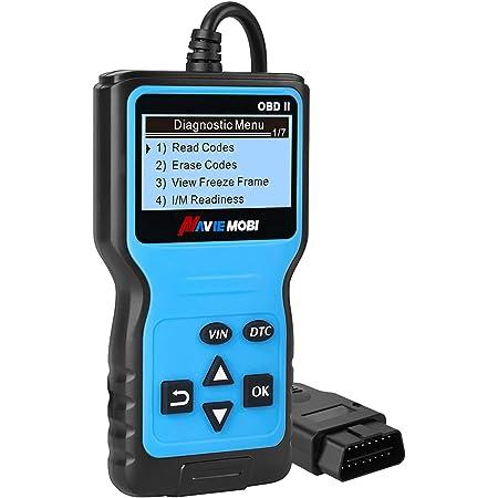 Obd2 Diagnosegerät Universal Profi Kfz Diagnosegerät Scanner Automotor Fehlercode Diagnosewerkzeuge Für Alle Fahrzeuge Mit Obd Ii Eobd Protokoll Blau Auto