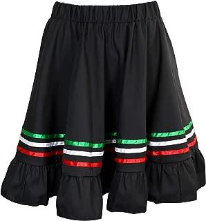 Girl's Mexican Traditional Cinco de Mayo Fiesta Skirt