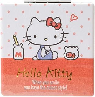 SANRIO Hello Kitty Compact Double Mirror (Milk)