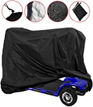 Mobility Scooter Storage Cover, Wheelchair Waterproof Storage Cover Lightweight Rain Protector from Dust Dirt Snow Rain Sun Rays - 55 x 26 x 36 inch (L x W x H)