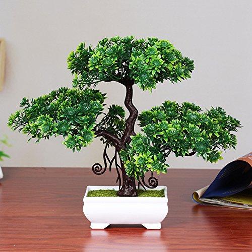 Dssttyle Pin bonsaï artificiel de décoration d'intérieur