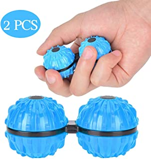 Massage Ball, Portable Conjoined Massage Ball Pain Relief Rotating Gyroscope Massager Relax Toy Portable Decompression Toy