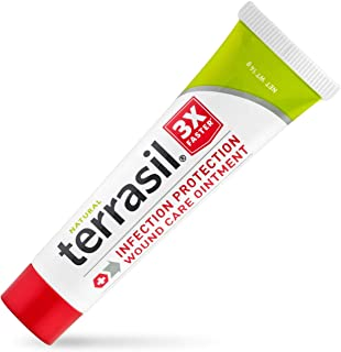 Best Terrasil Wound Care - 3X Faster Healing, Infection Protection Ointment for bed sores, pressure sores, diabetic wounds, ulcers, cuts, scrapes, and burns (14 gram tube) Review