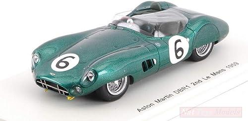 Mercancía de alta calidad y servicio conveniente y honesto. Spark Model S2439 Aston Martin DBR1 N.6 2nd 2nd 2nd LM 1959 M.TRINTIGNANT-P.FRERE 1 43 Compatible con  venta al por mayor barato