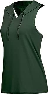NO Bother Women's Moisture Wicking Sport Tank Tops(Hoodie&Open Back Styles)