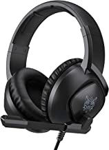 K 19 Gaming Headset for PS4,Nintendo Switch, PC with Mic - Surround Sound, Noise Canceling Game Earphone, Mute Switch- 3.5...