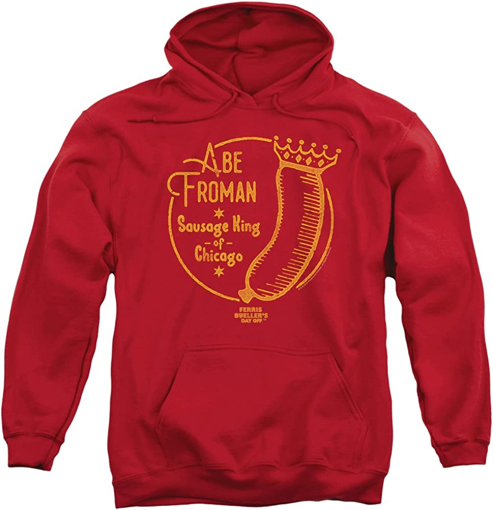 Trevco Ferris Bueller 完全送料無料 Abe Froman Pull-Over Unisex f Adult Hoodie ついに再販開始