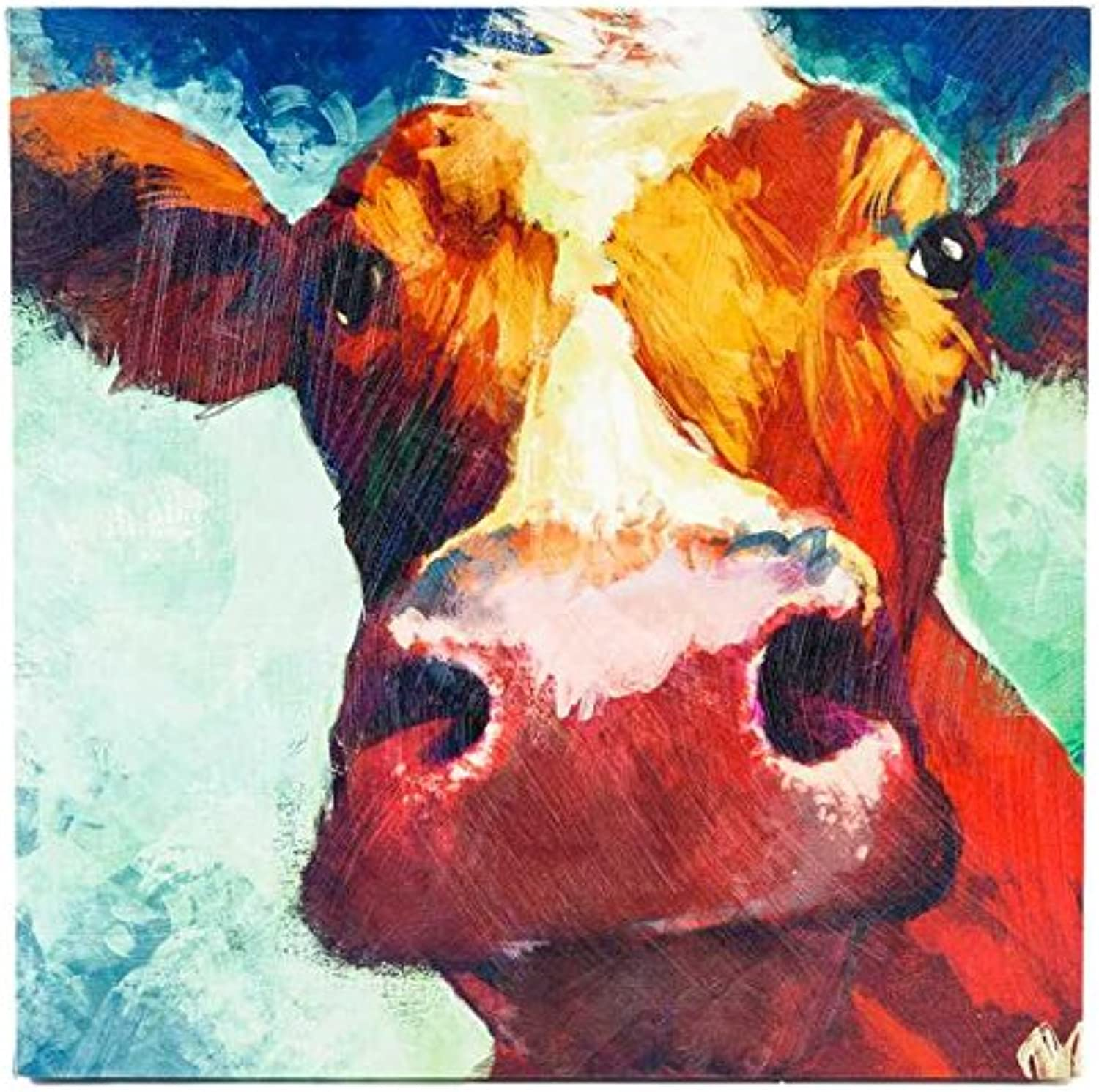 Big Cow Canvas Wall ArtNew by  CC