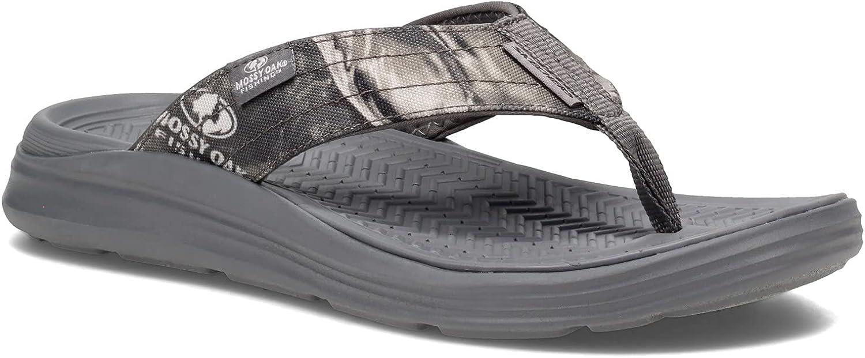 Skechers Men's, Sargo - Everport Sandal Grey CAMO 9 M