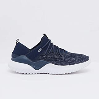 Shoexpress Textured Lace-Up Sneakers